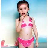 2pcs Children's Heart bikini swimwear