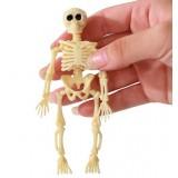 2pcs Halloween small skull props