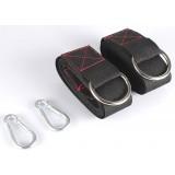 2pcs Nylon belt + steel buckle for hammock