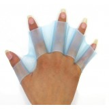 2pcs Silicone Swim Gloves
