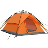 3-4 persons double layer automatic camping tent