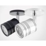 3-5W 180 degree rotating LED Spotlight with lamp holder