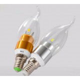 3-5W E14 energy saving SMD LED candle bulbs
