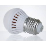 3-9W E27 PC lampshade ball light bulb