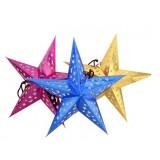 30-90cm hollow Big Star Christmas pendant