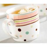 300ml classic stripes ceramic mug