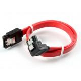SATA data cable / 30 cm 90 degree SATA hard drive cable