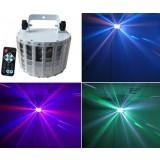 30W 8-color LED Mini stage laser lights