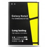 3100 mA lithium battery for Samsung Note2