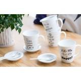 330ml minimalist classic ceramic mug