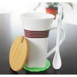 350ml Creative large caliber ceramic mug