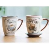350ml European-style ceramic mug