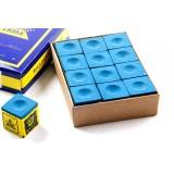 36pcs blue billiard cue chalks