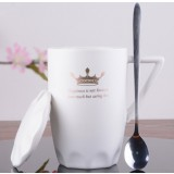 380ml European style minimalist ceramic mug