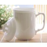 380ml white ceramic mug