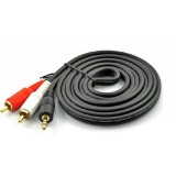 3.5mm audio cable to Dual RCA cord