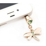 3.5MM headphone jack Dragonfly dust plug