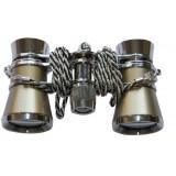 3 * 25 Mini retro binoculars with chain