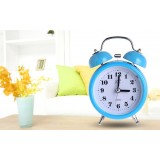 3 inch bedside metal alarm clock