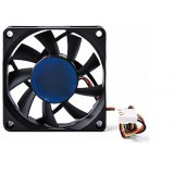 3 Pin Power Supply Interface 7cm Power Fan