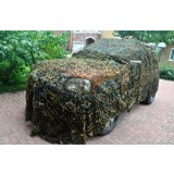 3D camouflage mesh be spliced double layer car cover