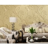 3D foaming non-woven wall stickers