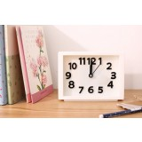 3D number minimalist alarm clock