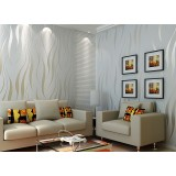 3D thicker non-woven wall stickers