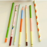 3pcs 17.6cm wooden pencils