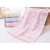 3pcs Cartoon embroidery cotton towels