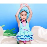 3pcs children skirt type swimwear