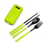 3pcs folding camping cutlery