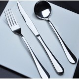 3pcs stainless steel knife and fork cutlery
