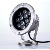 3W- 12W 12V stainless steel underwater LED spotlights