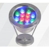 3W- 24W 12V stainless steel underwater LED spotlights
