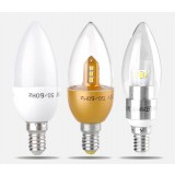 3W E14 SMD Crystal LED candle bulb
