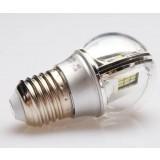 3W E27 / E14 LED ball light bulb