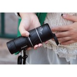 40 * 60 dual focusing green film monoculars