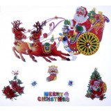42 * 39cm Christmas decoration stickers