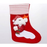 42cm Cartoon red Christmas stocking