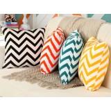 45 ~ 55cm wave pattern cotton pillow cover