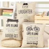45cm Printing cotton pillow cover