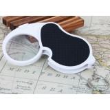 45mm 5X Mini LED magnifying glass