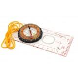 4.3cm multi-functional plastic luminous compass