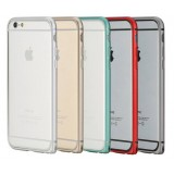 4.7 inches simplicity metal border protective cover for iphone 6