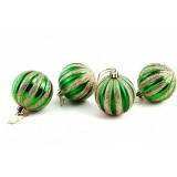 4pcs 6cm Christmas balls