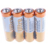 4pcs AA 1.5V alkaline batteries without mercury