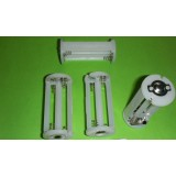 4pcs AAA battery holder for LED flashlight