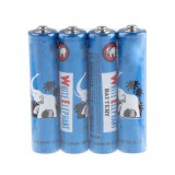 4pcs AAA carbon batteries