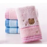 4pcs cartoon bear cotton towels
